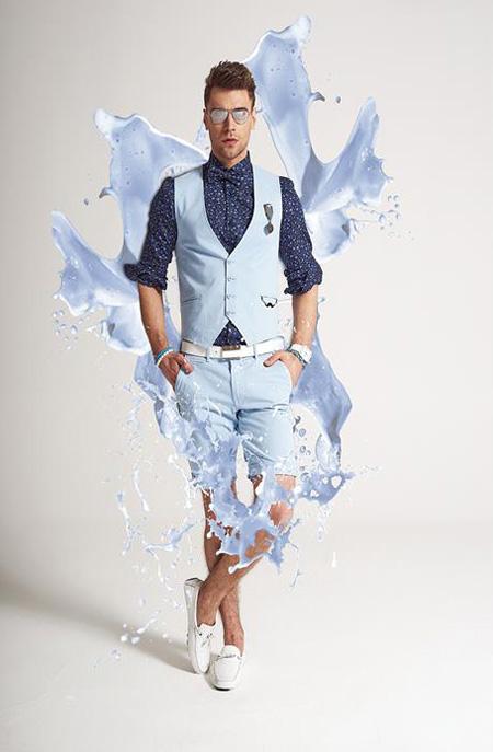 لباس تابستانی مردانه, مدل لباس مردانه