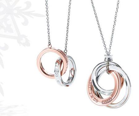 البوم عکس گردنبندهای جواهر برند Tiffany & Co