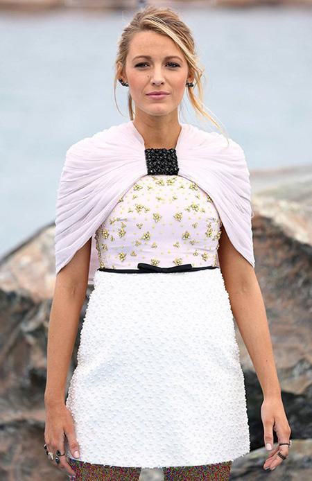 مدل لباس بارداری,لباس بارداری بلیک لایولی در جشنواره کن