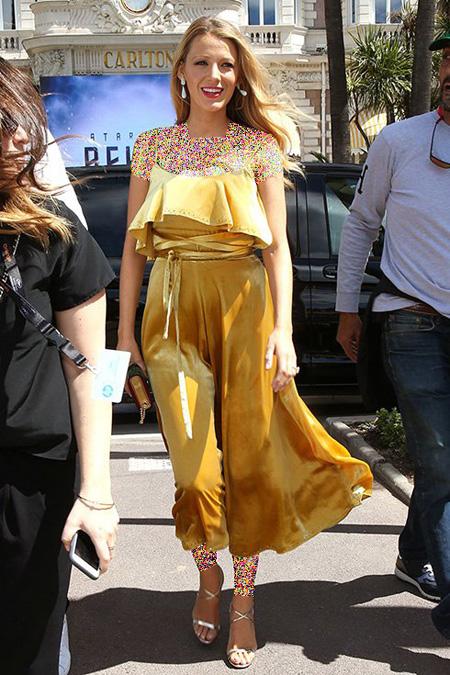 شیک ترین لباس های بارداری بلیک لایولی در جشنواره کن, لباس بارداری بلیک لایولی در جشنواره کن 2016 Cannes