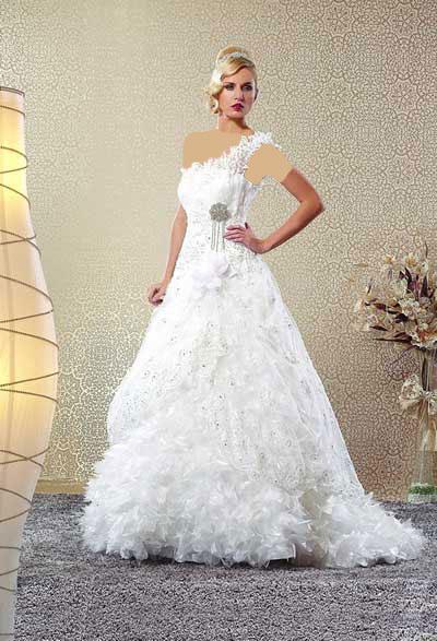 جدیدترین مدل های لباس عروس ۱۳۹۰