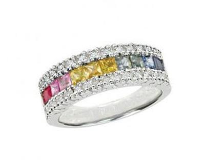 رنگارنگ ترین مدل انگشترها, مدل جواهرات رنگی