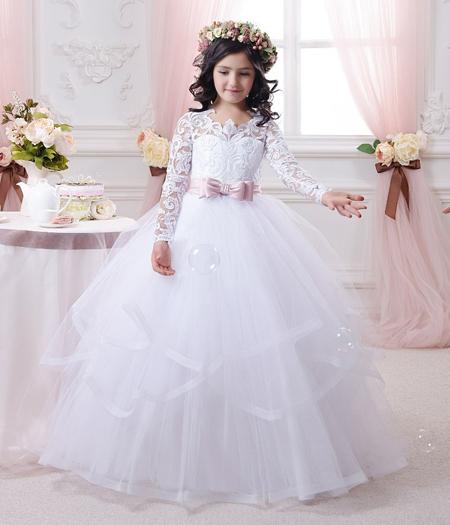 مدل لباس عروس دخترانه,جدیدترین لباس عروس دخترانه