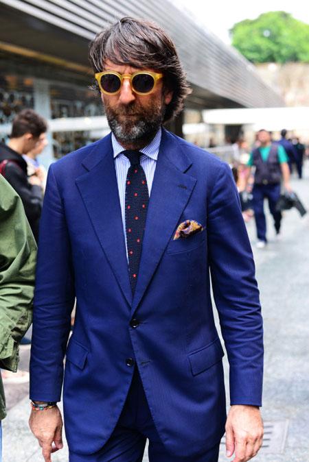 شو مردانه Pitti Uomo, طراحی لباس مردانه در هفته مد ایتالیا