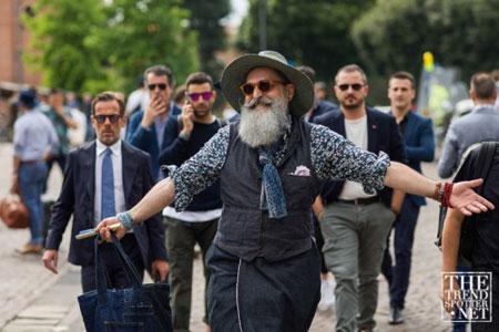 مراسمPitti Uomo, تیپ ها در هفته مد ایتالیا
