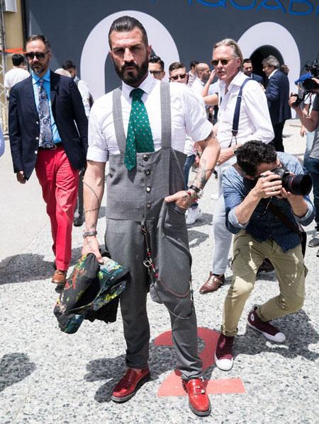 هفته مد ایتالیا,شیکترین تیپهای مردانه