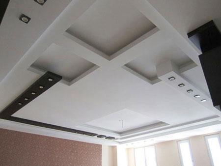 مدل سقف های کاذب,کناف سقف جدید و مدرن