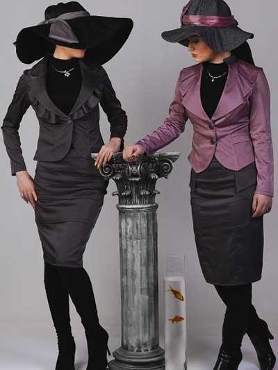 مدل کت و دامن (حجاب اسلامی)