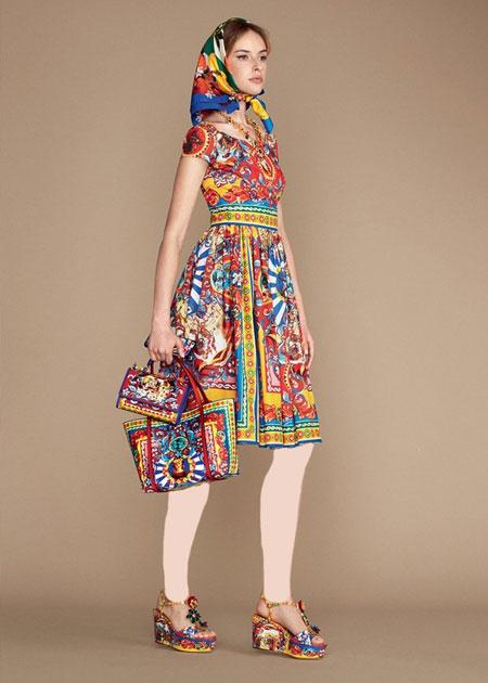لباس دولچه اند گابانا, مدل لباس دولچه اند گابانا