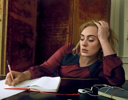 عکس های جدید Adele روی مجله ووگ, عکس های جدید Adele روی مجله Vogue