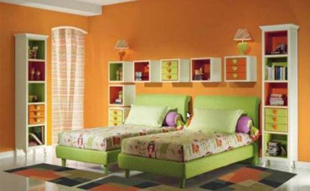 دکوراسیون اتاق کودکان,انتخاب رنگ اتاق کودکان