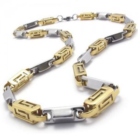 جدیدترین مدل گردنبند طلا مردانه