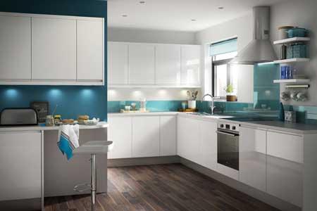 استفاده از رنگ های شاد در چیدمان آشپزخانه,بهترین رنگ برای دکوراسیون آشپزخانه