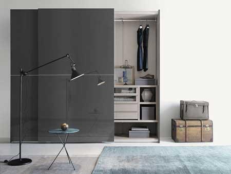 مدل طراحی کمد لباسی,مدل قفسه بندی کمد دیواری