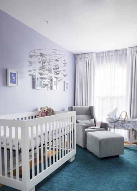 بهترین رنگ اتاق نوزاد,انتخاب تخت و گهواره اتاق نوزاد