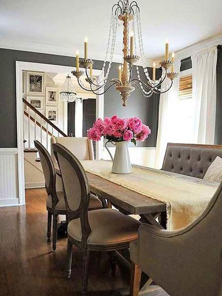 استفاده از رنگ های تیره در دکوراسیون داخلی, دکوراسیون داخلی خانه