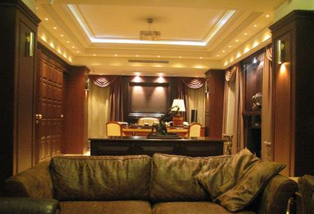 تکنیک های نورپردازی,نورپردازی سقف