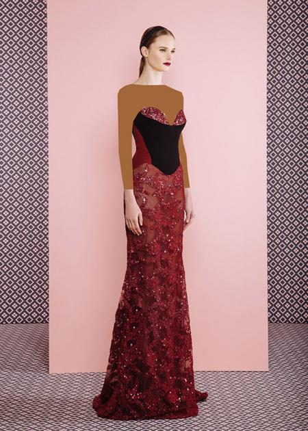 لباس مجلسی بلند زنانه, مدل لباس شب زنانه