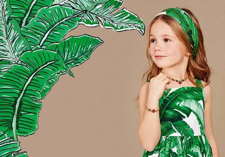 لباس پاییزی دخترانه برند دولچه گابانا,لباس پاییزی دولچه گابانا
