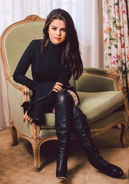 تصاویر جدید سلنا گومز, ژست های سلنا گومز روی مجله نیویورک تایمز