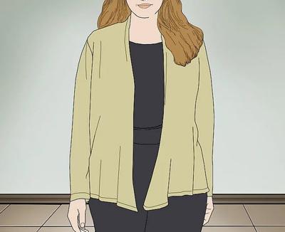 اصول ست کردن لباس برای کسانی که شکم بزرگی دارند
