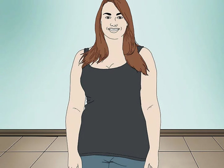 اصول لباس پوشیدن خانم های چاق, ست کردن لباس خانم های چاق