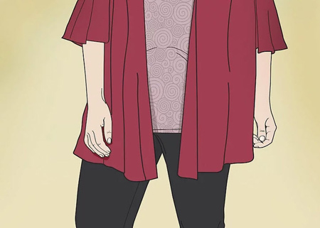 ست کردن لباس خانم های شکم بزرگ,پوشش خانم ها با پهلوهای بزرگ