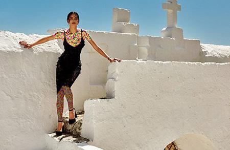 ایرینا شایک, تصاویر مجله ووگ