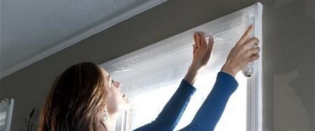 عایق کاری در و پنجره, نحوه پوشاندن درز پنجره ها