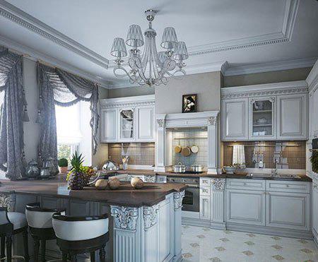 جدیدترین مدل پرده های آشپزخانه,پرده های شیک آشپزخانه