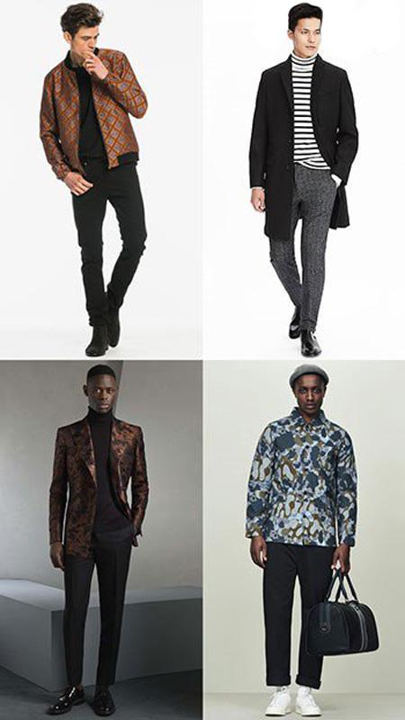 لباس پوشیدن آقایان در پاییز,پوشش آقایان در پاییز