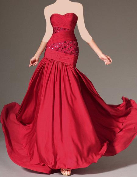 لباس مجلسی قرمز, لباس قرمز