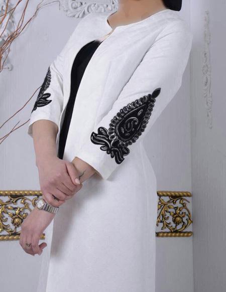 شیک ترین مانتوهای زنانه, مانتوهای شیک سفید و مشکی