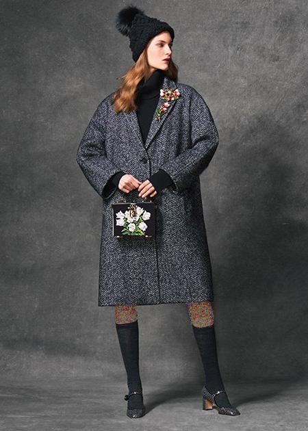 لباس زمستانی برند دولچه اند گابانا, مدل پالتو زنانه برند دولچه اند گابانا