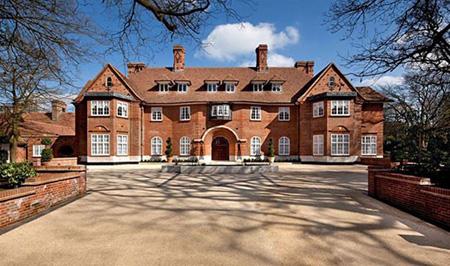 خانه اجاره ای جاستین بیبر در لندن, تصاویر خانه جاستین بیبر در لندن