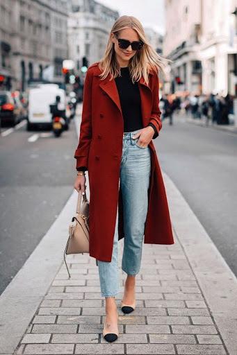 مدل ست های زمستانی قرمز و مشکی, ست کردن لباس های قرمز و مشکی