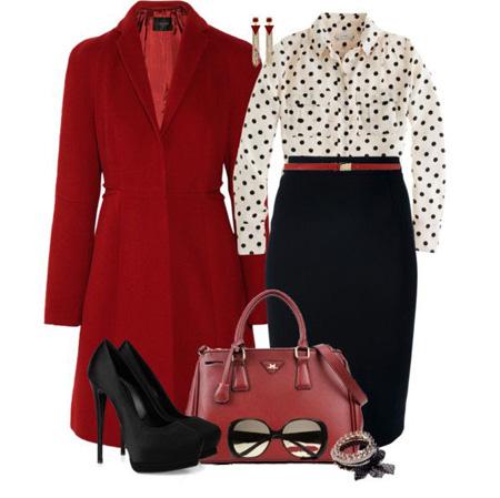 ست لباس قرمز و مشکی, ست قرمز و مشکی