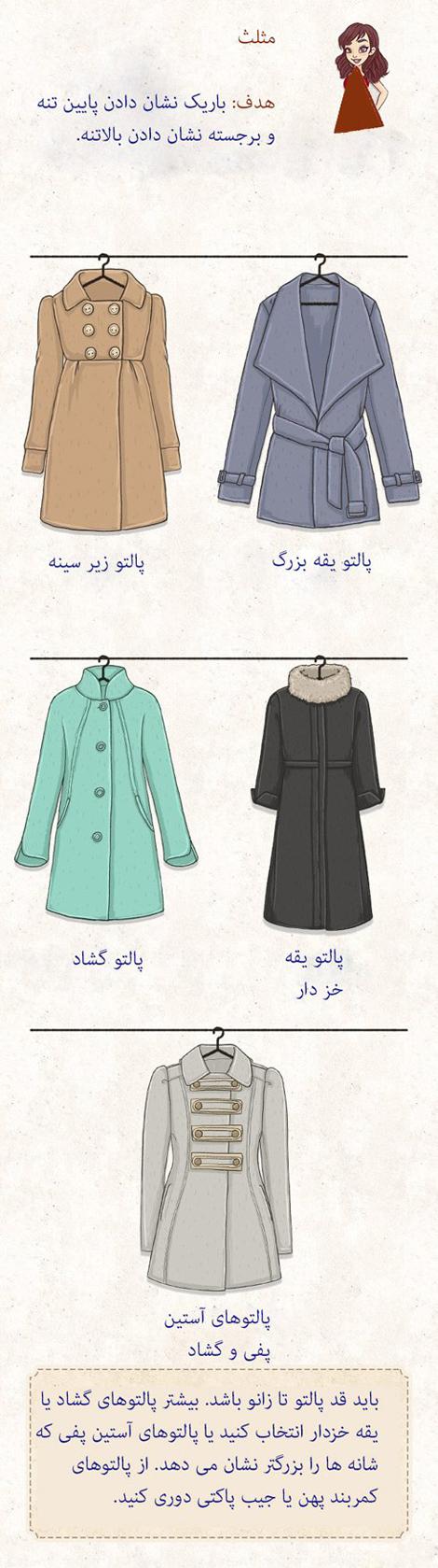 خرید پالتو و لباس های زمستانی, راهنمای انتخاب و خرید پالتو
