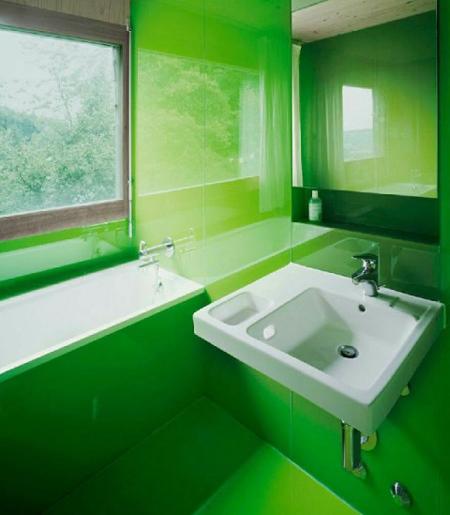 خانه به رنگ 2017, رنگ سبز در دکوراسیون نشیمن