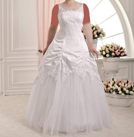 مدل لباس عروس سایز بزرگ 2017