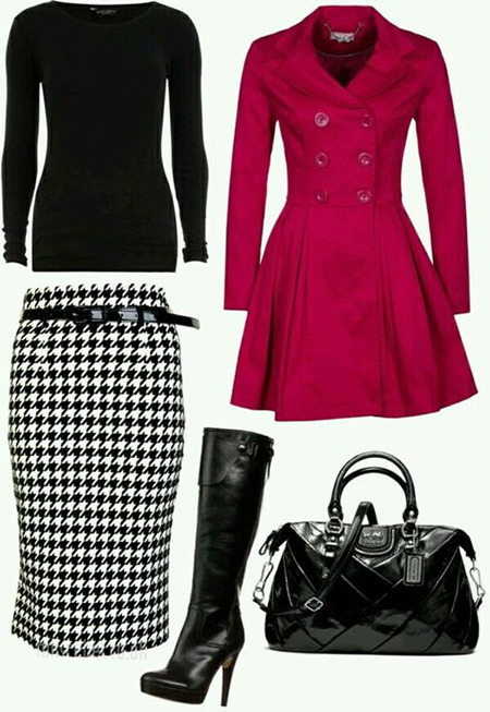 ست های زمستانی با دامن, جدیدترین و شیک ترین لباس های زمستانی