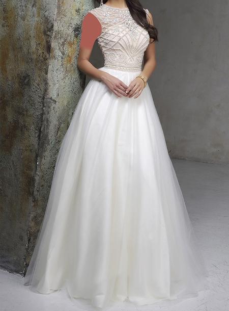 لباس نامزدی,مدل لباس نامزدی سفید