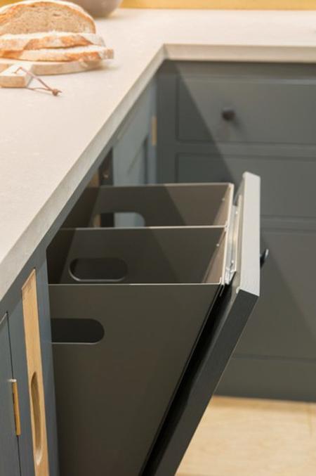 سطل های کشویی داخل کابینت,سطل زباله درون کشو