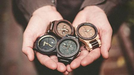 مدل های ساعت مچی مردانه بسیار شیک از جنس چوب