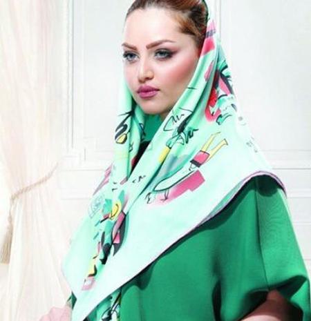 جدیدترین مدل روسری سبز, مدل روسری و شال سبز