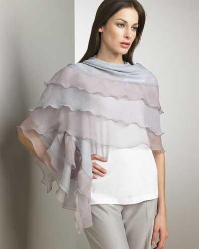 مدل شال و شنل زنانه و دخترانه