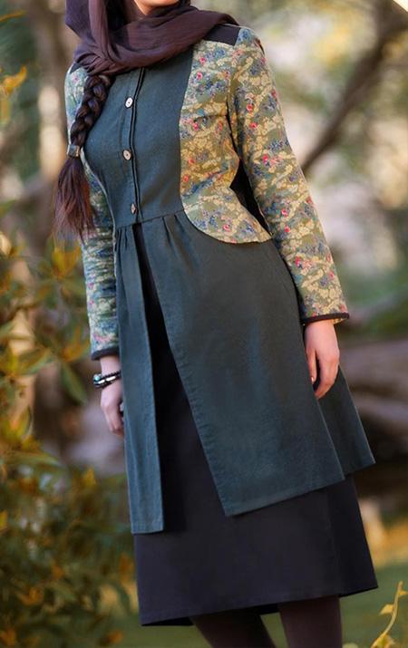 مدل مانتوهای سنتی زنانه, جدیدترین مدل مانتوهای تکه دوزی شده