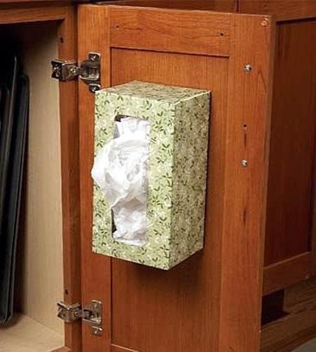 بی نظمی کیسه های پلاستیکی,ایده هایی برای نگهداری از کیسه های پلاستیکی