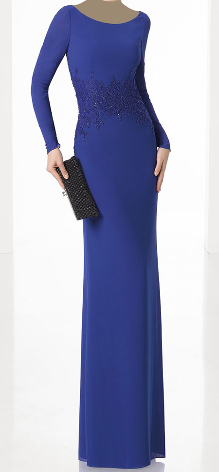 شیک ترین لباس مجلسی, مدل لباس مجلسی سورمه ای