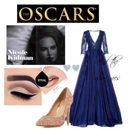 مدل لباس شب نیکول کیدمن, لباس های مجلسی نیکول کیدمن